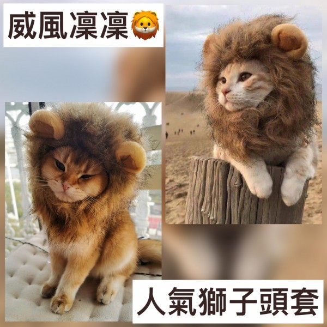 得意寵物造型頭套