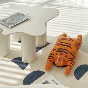 可愛老虎腰枕   抱枕靠背原創