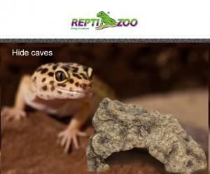 【REPTI ZOO】爬蟲躲避曬台 | 樹脂造景守宮岩石蛇躲避窩龜蜘蛛角落躲避