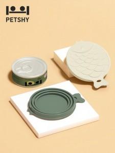 PETSHY - 密封蓋貓咪罐頭濕糧蓋子