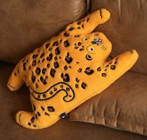 可愛金錢豹子腰枕 | 抱枕靠背原創
