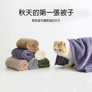 寵物毛毯 | 貓咪狗狗專用毯子 冬季保暖加厚小被子