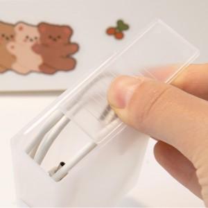 差電線收納盒 | 整理神器卷線固定理線器| 桌面手機充電器 | 電源繞線 | 數據線