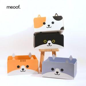 meoof  - 原創貓咪造型貓抓板 | 窩貓抓盒 | 瓦楞紙不掉屑厚紙盒貓盒
