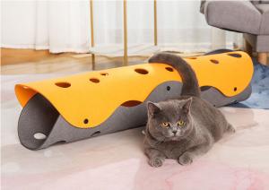 貓咪自嗨玩具 | 可拼接折疊隧道