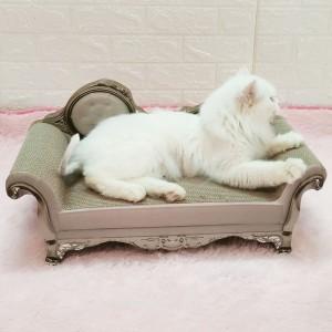 超豪華貓梳化 | 貴族貓窩 | 睡覺床多用瓦楞紙貓爪版