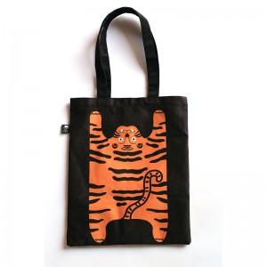 原創設計 可愛老虎帆布袋 | 休閒大容量肩單肩帆布包