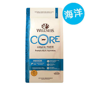 Wellness 寵物健康 CORE - 無穀物室內海魚配方乾糧 - 5磅